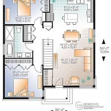 small homes floor plans small cottage plan with walkout basement cottage floor plan for