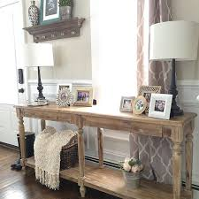 Tables For Foyer Impressive Interior Entry Console Table Imposing Tables Pictures