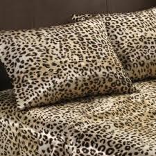 Faux Fur Comforter Set King Leopard Print Bedding King Size Foter