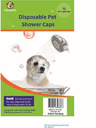 asian dog ring holder images Disposable pet shower caps dog cover protection jpg
