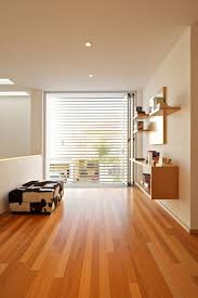 upper floor room interior among modern design used wooden flooring