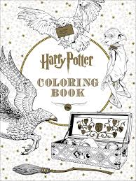 official harry potter color stunning harry potter coloring book
