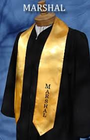 graduation stoles custom satin stoles graduation stoles class officer stoles