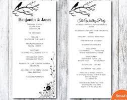 halloween wedding menu template diy printable gothic skull