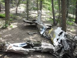 National Forest Map Colorado by Military Airplane Crash Site Rampart Range Pike National Forest