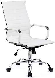 Amazoncom GTPOFFICE Office Chair Modern Ribbed Swivel Conference