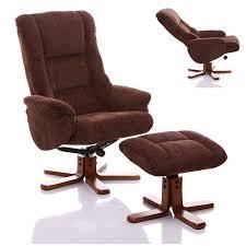fabric swivel recliner chairs the shangri la chenille fabric swivel recliner chair in