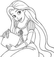 rapunzel coloring pages kids coloring pages paper dolls
