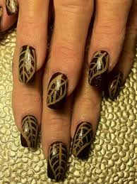 thanksgiving manicures turkey nail designs