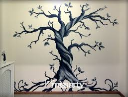gothic tree wall mural designed and painted inspiring ideas gothic tree wall mural designed and painted