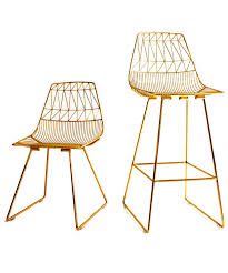 Bend Furniture Guilded Wire Chairs Review InStylecom - Bend furniture