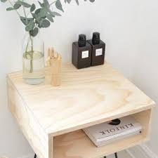 bedroom mid century modern nightstand for your bedroom decoration