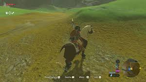 breath of the wild guide horse taming 101 the legend of zelda