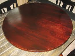 Umbrella Table Lazy Susan by Red Mahogany Wood Lazy Susan For Table Centerpiece Pic
