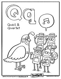 letter q alphabet storybots pinterest