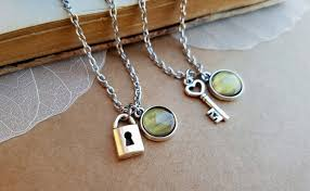 key shaped necklace images 50 superb matching necklaces for couples couples necklaces jpg
