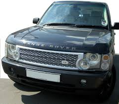 range rover front silver supercharged grille upgrade kit for range rover l322 2002