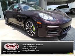 Porsche Panamera S E Hybrid - 2014 mahogany metallic porsche panamera s e hybrid 93793101