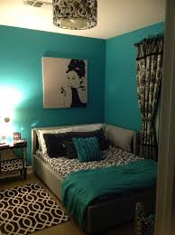 Best  Teal Bedrooms Ideas On Pinterest Teal Wall Mirrors - Blue and black bedroom designs