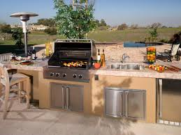 Outdoor Kitchen Cabinet Kits Rustic Outdoor Kitchen Ideas Outdoor Upmount Kitchen Sink Natural