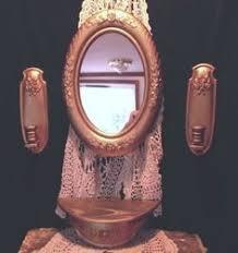 home interiors homco burwood 4 pc set mirror sconces shelf western