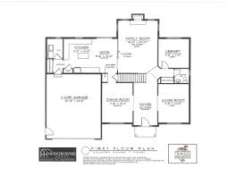 Arlington House Floor Plan by Mohawk Hills Development Judith Ann Realty Inc