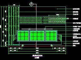 Reception Desk Cad Block Office Reception Desk Elevation Autocad Drawings