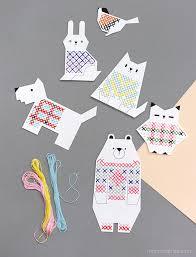 animal cross stitch for mr printables