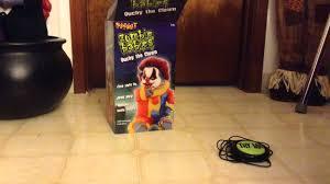 spirit halloween morbid enterprises display ouchy the clown baby