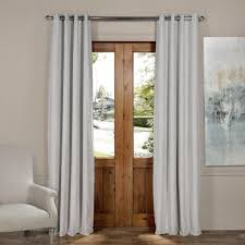 grommet curtains u0026 drapes window treatments the home depot