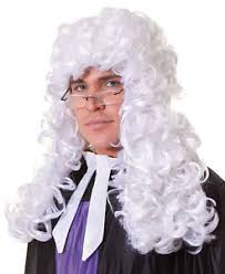 long curly hair style for lawyer mens long white curly judge lawyer barrister court fancy dress wig