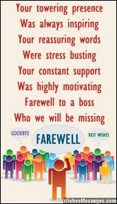 farewell messages for boss goodbye messages for boss projects