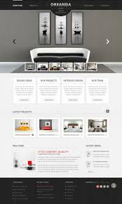 home interior design websites interior design website template