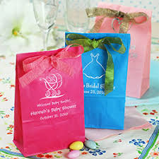 baby shower favor bags baby girl shower favors it s a girl unique baby shower favors