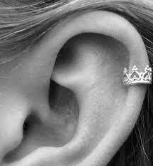 helix earing ear piercings images guide