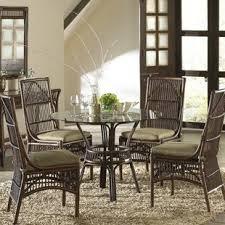 Rattan Kitchen Furniture Wicker Rattan Kitchen Dining Room Sets You Ll Wayfair
