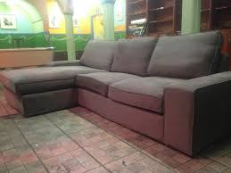 Ikea Sofa Chaise Lounge by Ikea Sofa Kivik Two Seat Sofa And Chaise Longue Like New