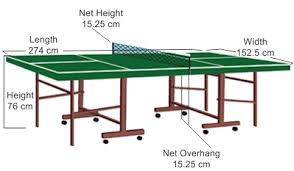 Beer Pong Table Length by Everything You Need To Know About Ping Pong Table Dimensions