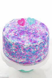 gender reveal surprise cake recipe cooking lsl
