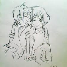 pencil sketching of cute couple cute love drawings pencil art hd