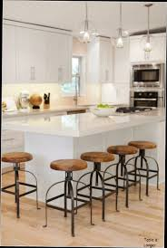 cuisine avec cuisine table haute de avec tabouret style industriel