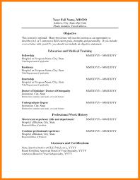 Ob Gyn Medical Assistant Resume 12 Medical Doctor Resume Mla Cover Page