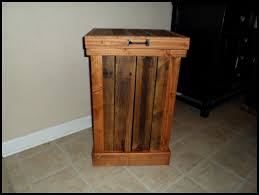 kitchen garbage cabinet kitchen wooden trash can holder large kitchen trash can pull out