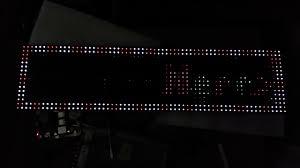crockett fantasy of lights p10 panel test with cfol nano matrix pihat 10 brightness youtube