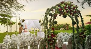 wedding backdrop penang parkroyal penang resort malaysia wedding