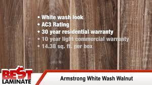 Nirvana Plus Laminate Flooring White Washed Walnut Laminate Flooring