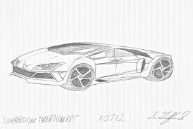 lamborghini sketch lamborghini torero concept by gelfanddesign on deviantart