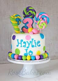 lollipops u0026 candy cake