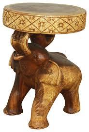 Elephant Side Table Elephant Side End Tables Houzz