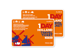 Holland travel ticket product public transport holland